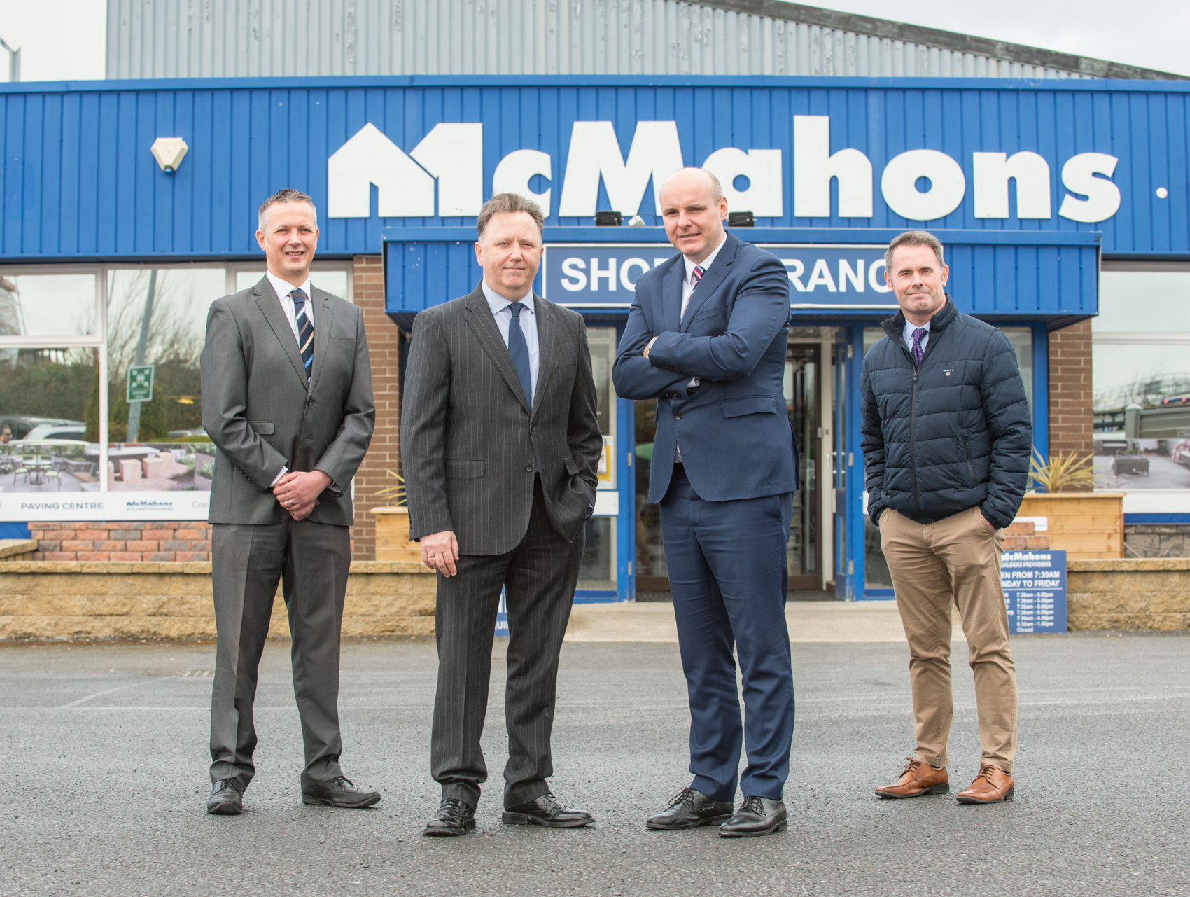AirSpeed Telecom provides connectivity to 14 McMahon's Builders Provider sites